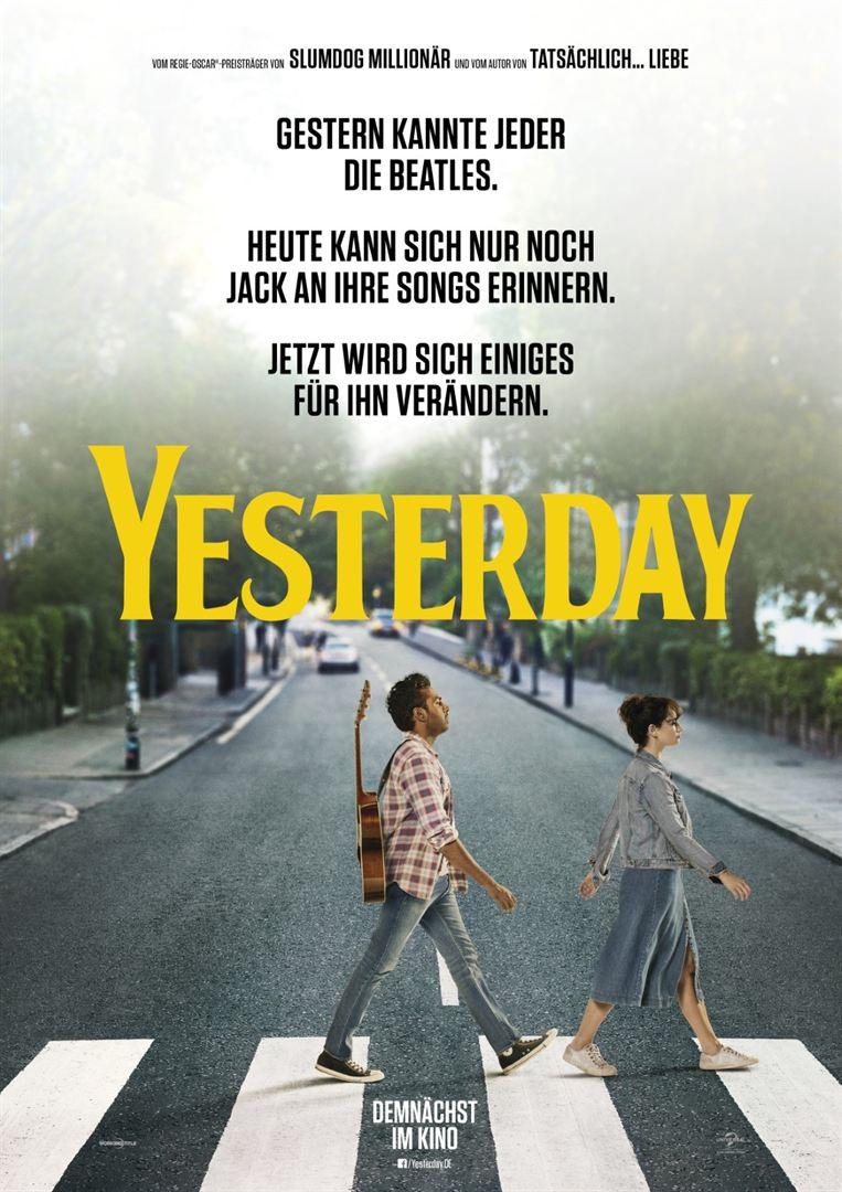 Plakat: YESTERDAY